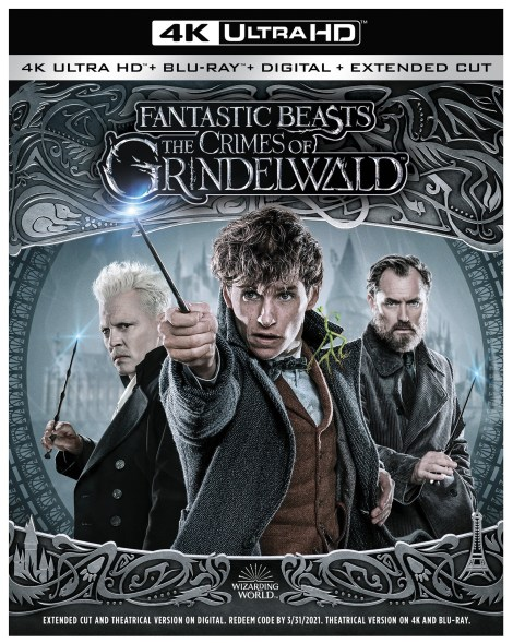 'Fantastic Beasts: The Crimes Of Grindelwald'; Arrives On Digital February 15 & On 4K Ultra HD, Blu-ray & DVD March 12, 2019 From Warner Bros 3