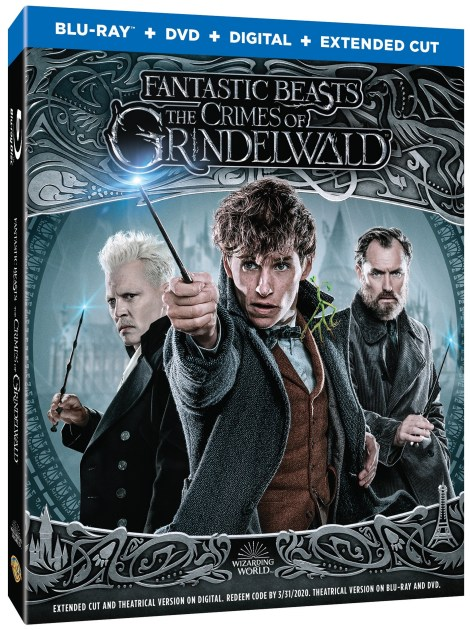 'Fantastic Beasts: The Crimes Of Grindelwald'; Arrives On Digital February 15 & On 4K Ultra HD, Blu-ray & DVD March 12, 2019 From Warner Bros 4
