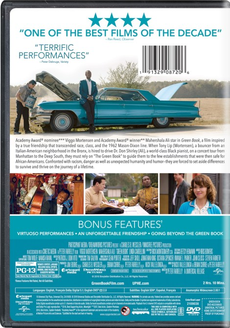 'Green Book'; The Acclaimed Film Arrives On Digital February 19 & On 4K Ultra HD, Blu-ray & DVD March 12, 2019 From Universal 13