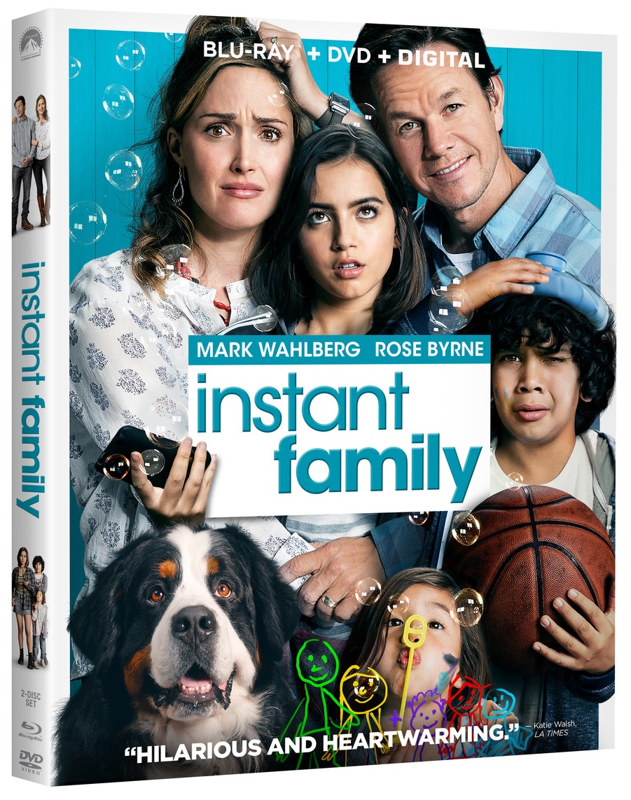 [GIVEAWAY] Win 'Instant Family' On Blu-ray Combo Pack: Available On Blu-ray & DVD March 5, 2019 From Paramount 8
