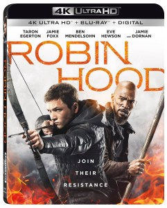'Robin Hood'; The Latest Retelling Of The Classic Tale Arrives On Digital February 5 & On 4K Ultra HD, Blu-ray & DVD February 19, 2019 From Lionsgate 1