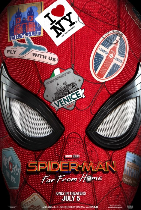 The First Trailer & Poster For 'Spider-Man: Far From Home' Swing In! 2