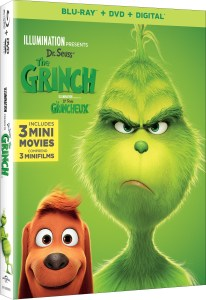 Illumination Presents Dr. Seuss' 'The Grinch'; Arrives On Digital January 22 & On 4K Ultra HD, 3D Blu-ray, Blu-ray & DVD February 5, 2019 From Illumination & Universal 1