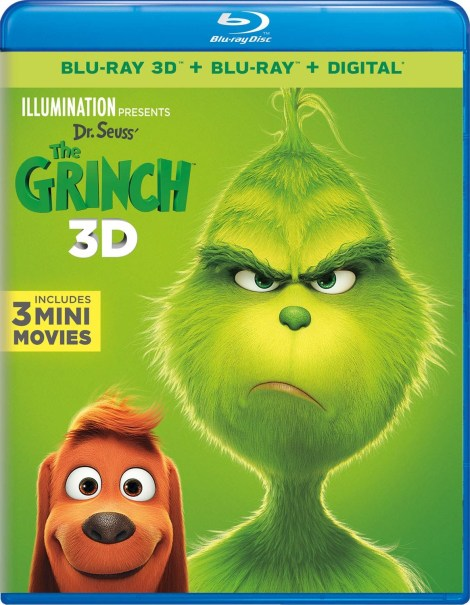 Illumination Presents Dr. Seuss' 'The Grinch'; Arrives On Digital January 22 & On 4K Ultra HD, 3D Blu-ray, Blu-ray & DVD February 5, 2019 From Illumination & Universal 9