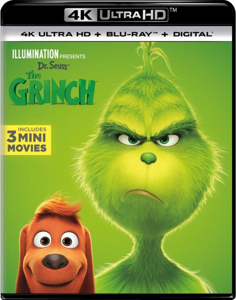Illumination Presents Dr. Seuss' 'The Grinch'; Arrives On Digital January 22 & On 4K Ultra HD, 3D Blu-ray, Blu-ray & DVD February 5, 2019 From Illumination & Universal 4