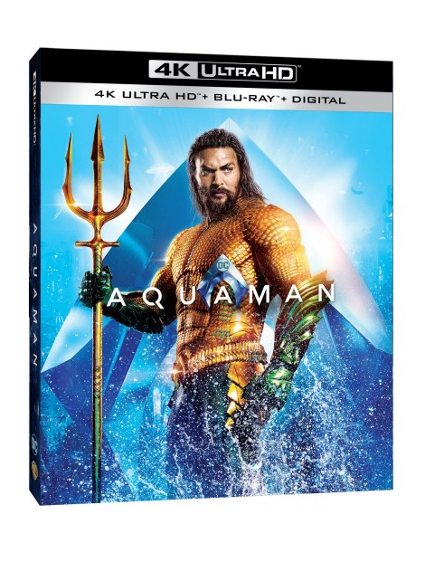 'Aquaman'; Arrives On Digital March 5 & On 4K Ultra HD, Blu-ray & DVD March 26, 2019 From DC & Warner Bros 2
