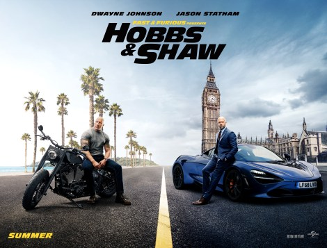The Debut Trailer & Poster For 'Fast & Furious Presents: Hobbs & Shaw' Bring The Action & Laughs 2