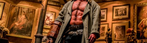 Check Out A New Red Band Trailer & 3 New Posters For The Upcoming 'Hellboy' Movie 2