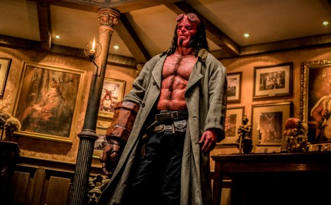 Check Out A New Red Band Trailer & 3 New Posters For The Upcoming 'Hellboy' Movie 1