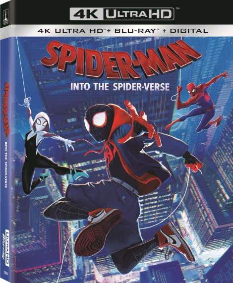 'Spider-Man: Into The Spider-Verse'; Arrives On Digital February 26 & On 4K Ultra HD, Blu-ray & DVD March 19, 2019 From Sony Pictures 5