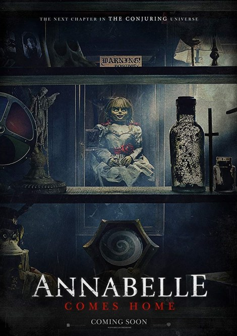 The First Trailer & Poster For 'Annabelle Comes Home' Invite You Into The Home Of Terror 2