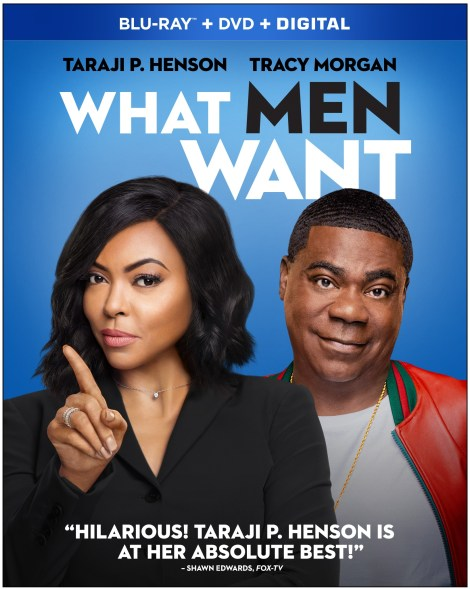 'What Men Want'; The Comedy Starring Taraji P. Henson Arrives On Digital April 23 & On Bu-ray & DVD May 7, 2019 From Paramount 3