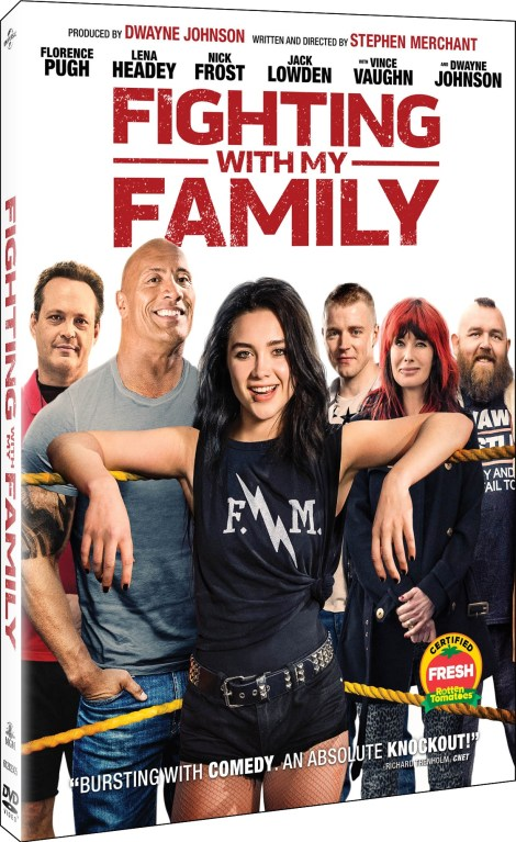 'Fighting With My Family'; Arrives On Digital April 30 & On Blu-ray & DVD May 14, 2019 From MGM & Universal 9