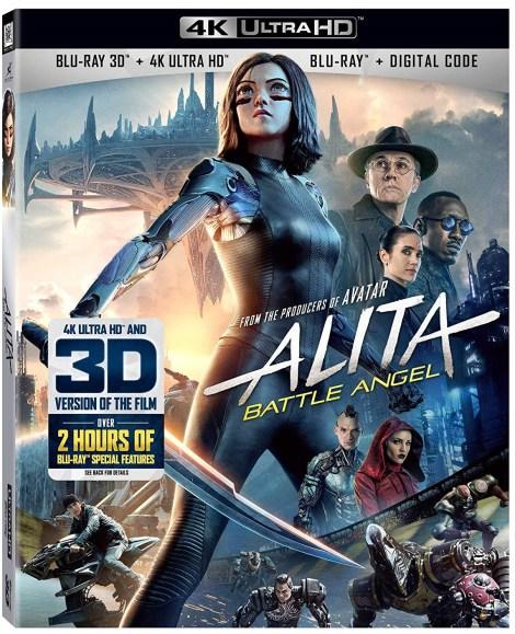 'Alita: Battle Angel'; Arrives On Digital July 9 & On 4K Ultra HD + Blu-ray 3D, Blu-ray & DVD July 23, 2019 From Fox 2