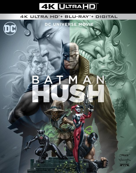 Trailer, Artwork & Release Details For 'Batman: Hush'; Arrives On Digital July 20 & On 4K Ultra HD & Blu-ray August 6, 2019 From DC & Warner Bros 2