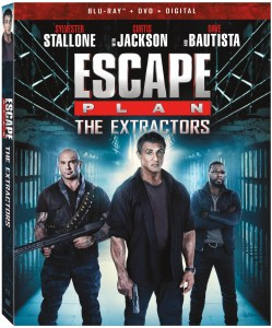Trailer, Artwork & Release Details For 'Escape Plan: The Extractors'; The Third Film In The Action Franchise Arrives On Blu-ray, DVD & Digital July 2, 2019 From Lionsgate 1