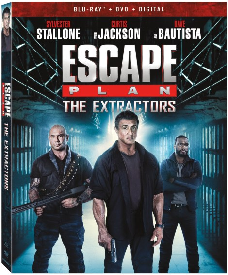 Trailer, Artwork & Release Details For 'Escape Plan: The Extractors'; The Third Film In The Action Franchise Arrives On Blu-ray, DVD & Digital July 2, 2019 From Lionsgate 4