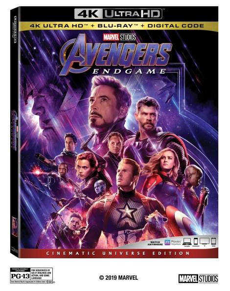 Marvel's 'Avengers: Endgame'; Arrives On Digital July 30 & On 4K Ultra HD, Blu-ray & DVD August 13, 2019 From Marvel Studios 3