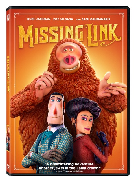 'Missing Link'; The Animated Adventure Arrives On Digital July 9 & On Blu-ray & DVD July 23, 2019 From Fox 3