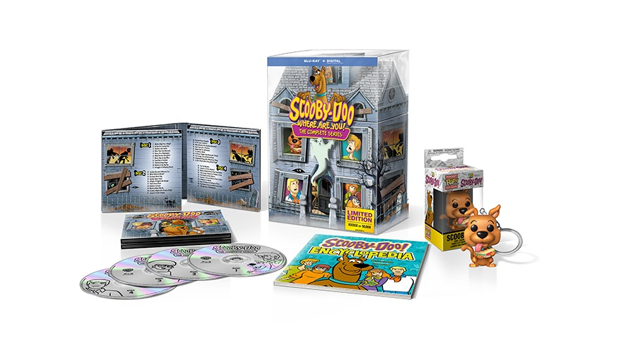 'Scooby-Doo, Where Are You!'; The Complete Series Arrives On Blu-ray For The First Time In 'The Limited Edition 50th Anniversary Mystery Mansion' Set On September 3, 2019 From Warner Bros 6
