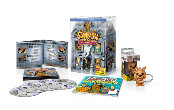 'Scooby-Doo, Where Are You!'; The Complete Series Arrives On Blu-ray For The First Time In 'The Limited Edition 50th Anniversary Mystery Mansion' Set On September 3, 2019 From Warner Bros 3