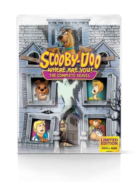 'Scooby-Doo, Where Are You!'; The Complete Series Arrives On Blu-ray For The First Time In 'The Limited Edition 50th Anniversary Mystery Mansion' Set On September 3, 2019 From Warner Bros 4