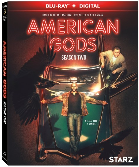 'American Gods: Season Two'; Arrives On Blu-ray & DVD August 20, 2019 From Starz & Lionsgate 4