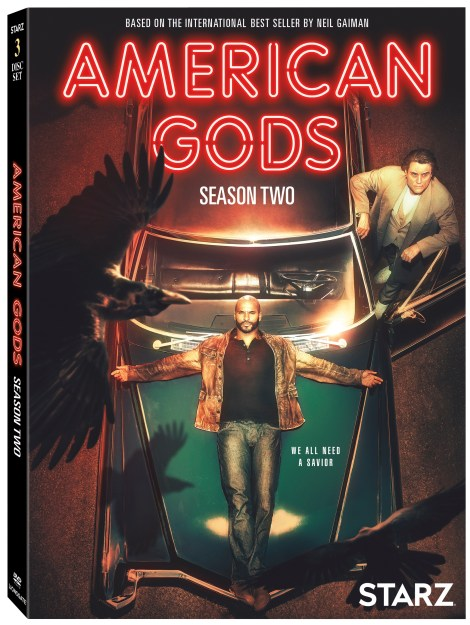 'American Gods: Season Two'; Arrives On Blu-ray & DVD August 20, 2019 From Starz & Lionsgate 5