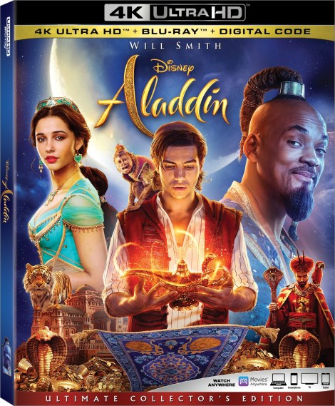 Disney's 'Aladdin'; The New Live-Action Film Arrives On Digital August 27 & On 4K Ultra HD & Blu-ray September 10, 2019 From Disney 3