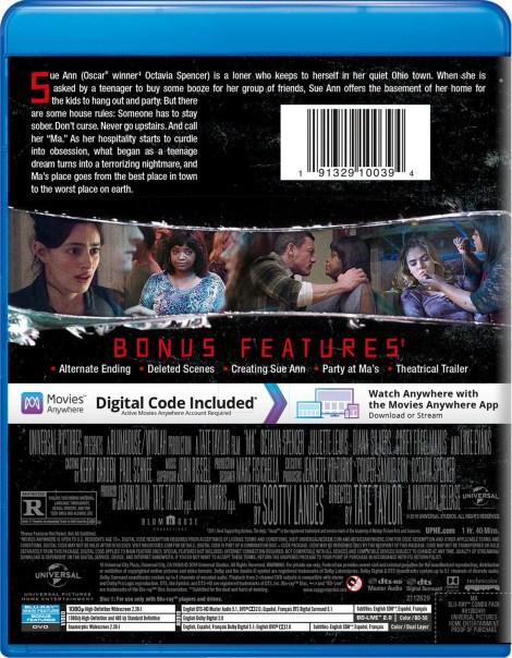 'MA'; The Thriller Starring Octavia Spencer Arrives On Digital August 20 & On Blu-ray & DVD September 3, 2019 From Universal 7
