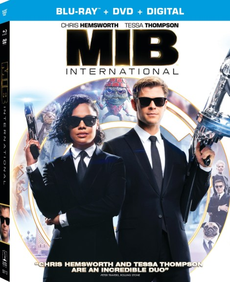 'Men In Black: International'; Arrives On Digital August 20 & On 4K Ultra HD, Blu-ray & DVD September 3, 2019 From Sony 5
