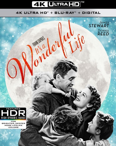 'It's A Wonderful Life'; The Classic Film Debuts On 4K Ultra HD October 29, 2019 From Paramount 3
