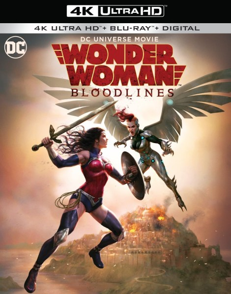 Trailer, Artwork & Release Info For 'Wonder Woman: Bloodlines'; Arrives On Digital October 5 & On 4K Ultra HD & Blu-ray October 22, 2019 From DC & Warner Bros 4
