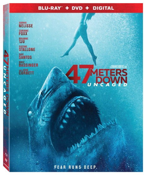 47 Meters Down: Uncaged; Arrives On Digital October 29 & On Blu-ray & DVD November 12, 2019 From Lionsgate 4