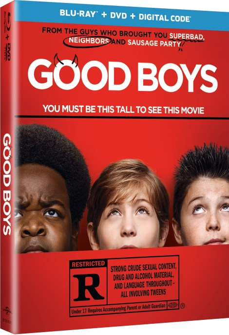 Good Boys; The R-Rated Comedy Arrives On Digital October 29 & On Blu-ray & DVD November 12, 2019 From Universal 4