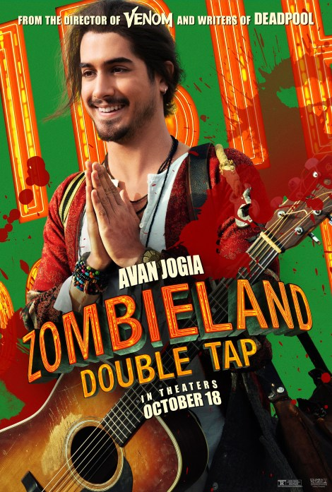 Meet Your Zombie Killers In 8 New 'Zombieland: Double Tap' Character Posters 8