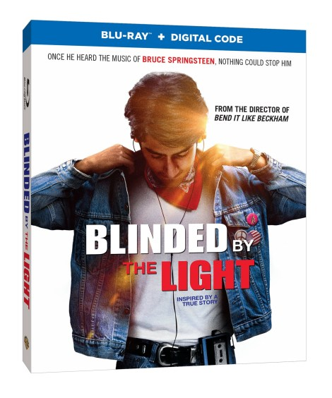 Blinded By The Light Blu ray cover