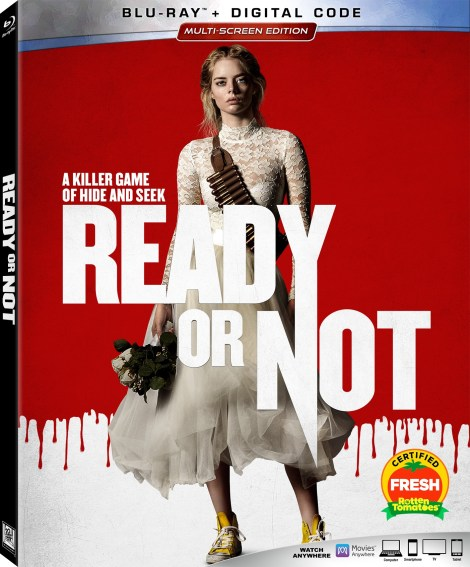 Ready Or Not Blu-ray cover