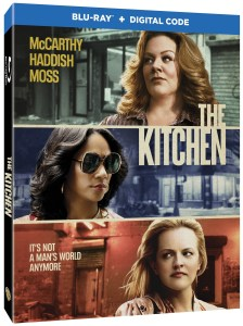 Blu ray cover of The Kitchen movie