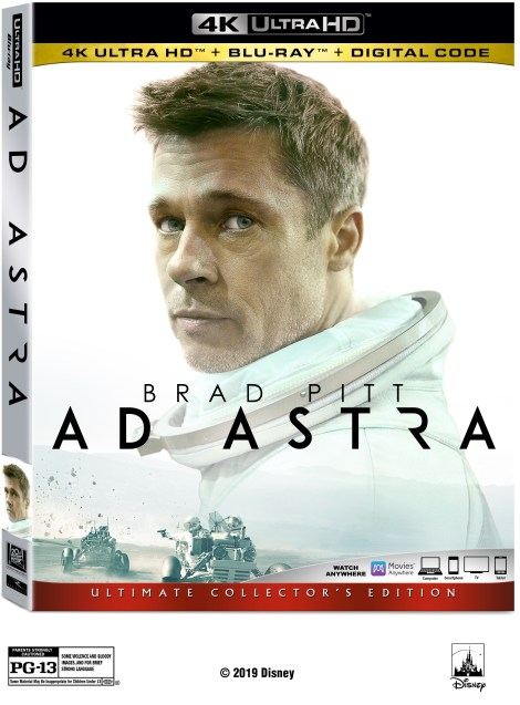 Ad Astra; Arrives On Digital December 3 & On 4K Ultra HD, Blu-ray & DVD December 17, 2019 From Fox 3