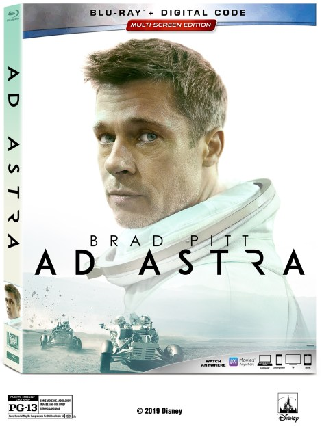 Ad Astra; Arrives On Digital December 3 & On 4K Ultra HD, Blu-ray & DVD December 17, 2019 From Fox 4