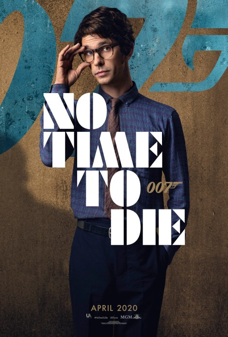 Bond Is Back In The First 'No Time To Die' Trailer & 6 Character Posters 5
