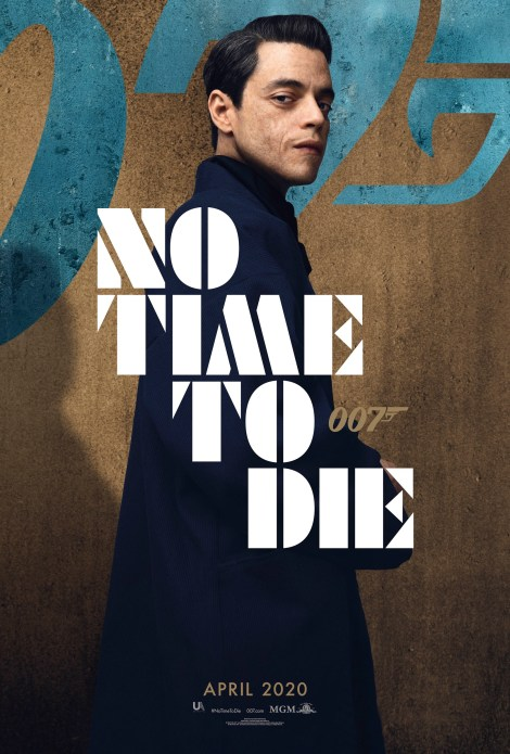 Bond Is Back In The First 'No Time To Die' Trailer & 6 Character Posters 3