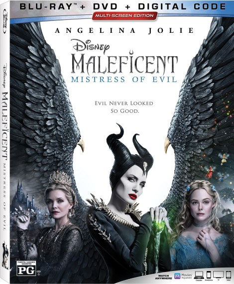 Maleficent: Mistress of Evil; Arrives On Digital December 31, 2019 & On 4K Ultra HD, Blu-ray & DVD January 14, 2020 From Disney 4