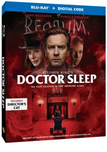 Doctor Sleep: Director's Cut*; Arrives On Digital January 21 & On 4K Ultra HD, Blu-ray & DVD February 4, 2020 From Warner Bros 1