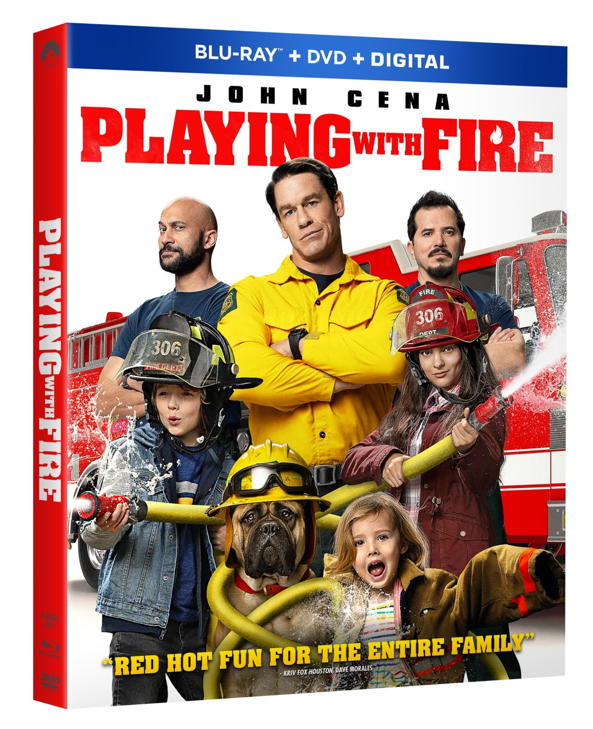 Playing with Fire Blu ray Artwork