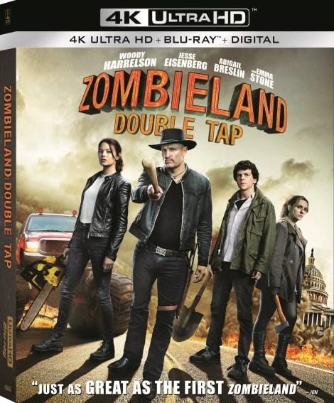 Zombieland: Double Tap; Arrives On Digital December 24 & On 4K Ultra HD, Blu-ray & DVD January 21, 2020 From Sony 3