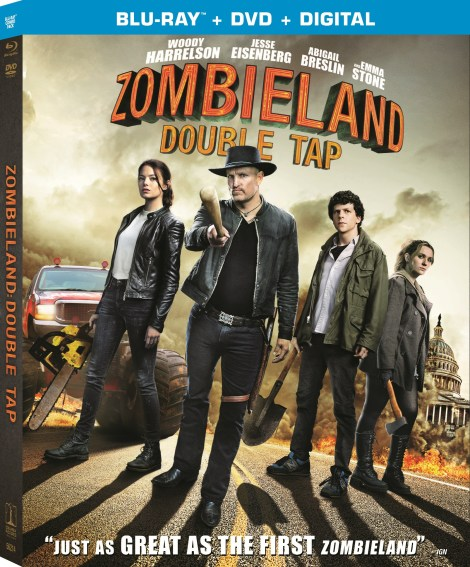 Zombieland: Double Tap; Arrives On Digital December 24 & On 4K Ultra HD, Blu-ray & DVD January 21, 2020 From Sony 4