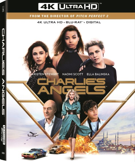 Charlie's Angels; The Elizabeth Banks Directed Reboot Arrives On Digital February 18 & On 4K Ultra HD, Blu-ray & DVD March 10, 2020 From Sony 4