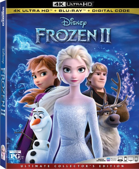 Disney's 'Frozen 2'; Arrives On Digital February 11 & On 4K Ultra HD, Blu-ray & DVD February 25, 2020 From Disney 3